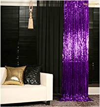 Best gold sequin backdrop curtains Reviews