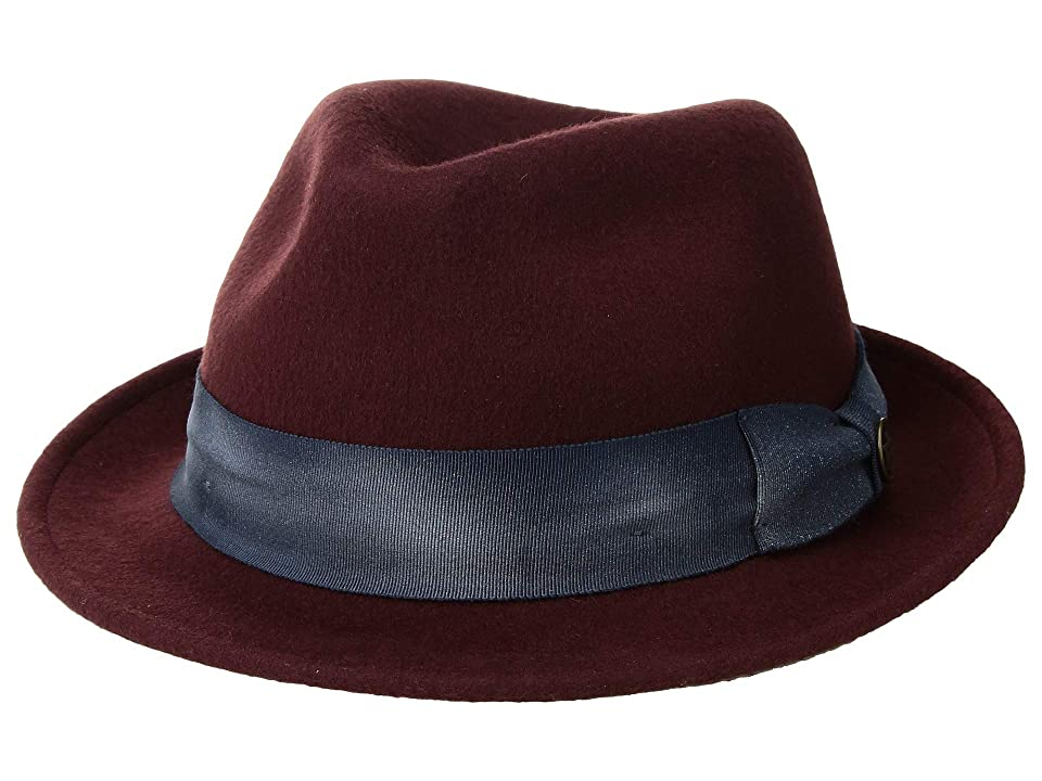 1960s – 70s Style Men's Hats Goorin Brothers Party Times Burgundy Caps $70.00 AT vintagedancer.com
