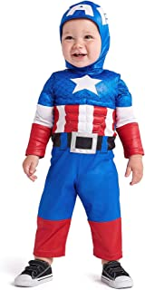 Captain America Costume for Baby Multi