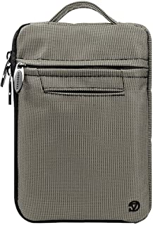 Tablet Cover Sleeve Pouch Bag Carrying Case 7 Inch for Samsung Galaxy Tab 4 7 Inch, Galaxy Tab J, J Max, Galaxy Tab A 7, Visual Land Prestige Elite 7Qs, LG G Pad 7 Inch, Grey