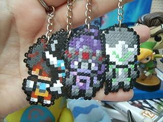Portachiavi di personaggi Overwatch • Hama Beads • Pixel/art - Pixel Art • Perler Beads • Widow Tracer Reinhardt Hanzo Gen...