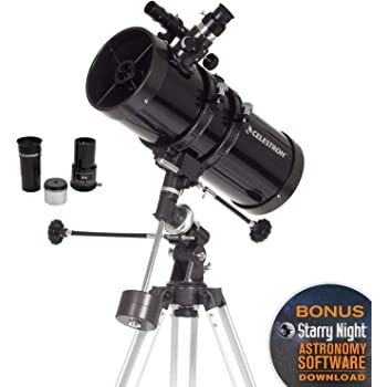 5.1 f//900 Motorised Newtonian Reflector Telescope 10713 Skywatcher Explorer-130M 130mm