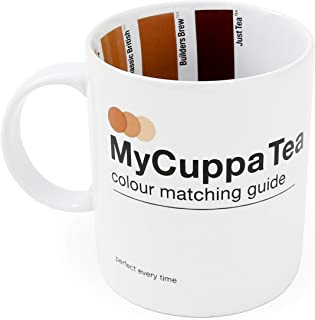Suck UK SK MYCUP1T Cuppa Tea HOT Drinks Mug-Novelty Gift for Brew Lovers, Multi