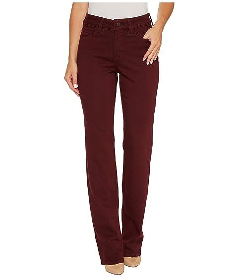 Touch Currant Marilyn NYDJ in Straight Denim in Luxury Jeans Deep wpAXAzP