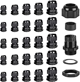 TKE//P 20//FFD//1-1.5 10106237 Wiska Waterproof 20mm Cable Gland for 1-1.5mm Flat Twin and Earth T/&E Cables