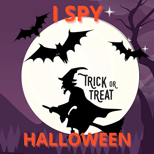 I Spy Halloween: A Fun Interactive and Spooky Guessing Book for kids to Celebrate Halloween (English Edition)
