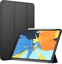JETech Funda Compatible iPad Pro 11 Pulgadas Modelo 2018, (No para el Modelo 2020), Compatible con Apple Pencil, Smart Cover Auto-Sueño/Estela, Negro