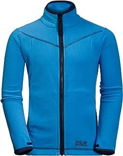 Jack Wolfskin Boy's Sandpiper Lightweight Fleece Jacket With System-zip