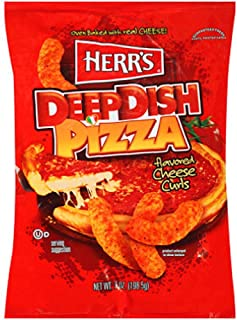 Herr's Deep Dish Pizza Cheese Curls 1 Oz. (Pack of 42)