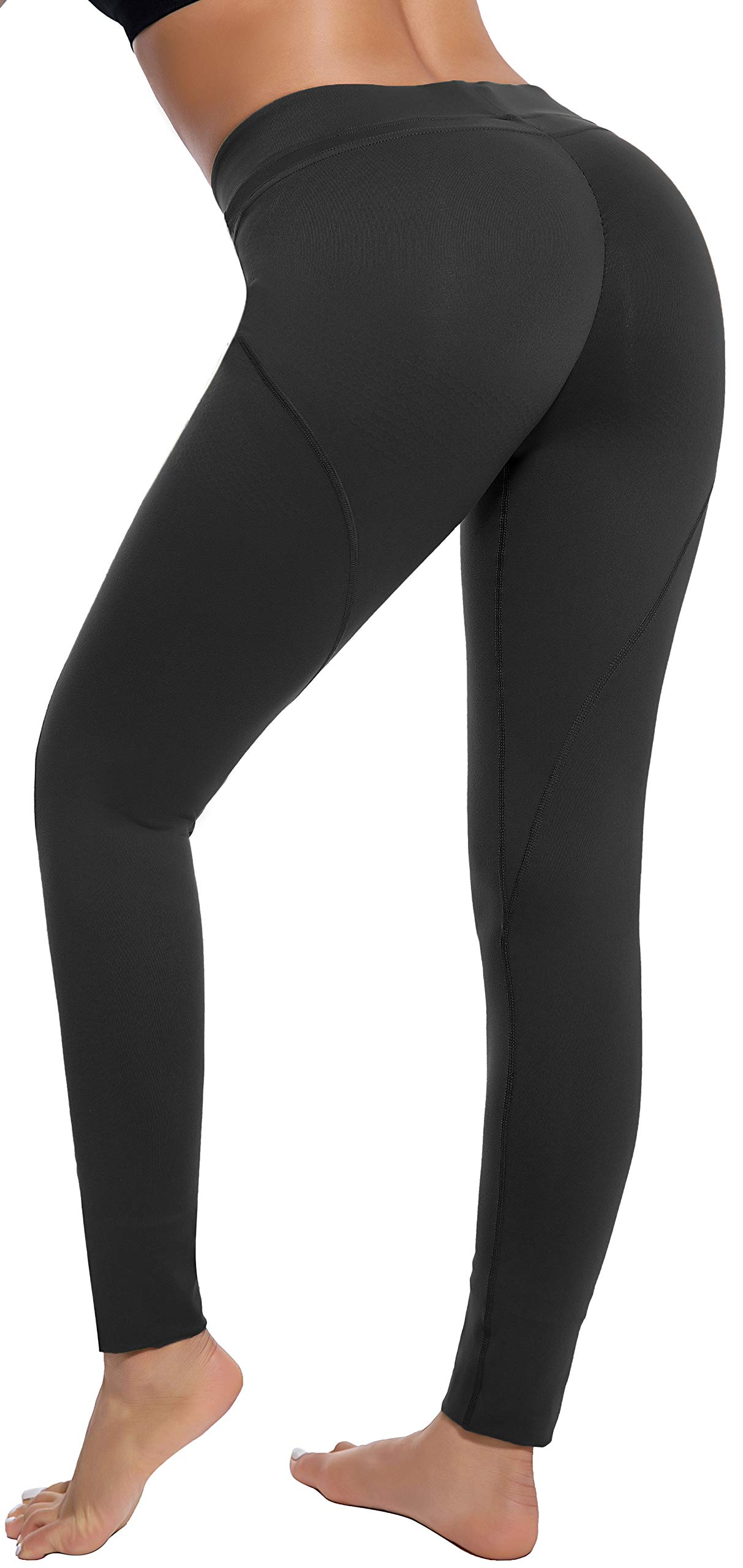 RUNNING GIRL Ombre High Waist Yoga Leggings,Butt Lifting Yoga Pants Tummy Control Compression Gym Workout Leggings for Women