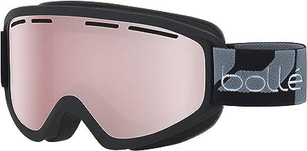 Bollé Skibril voor volwassenen, mat zwart, medium