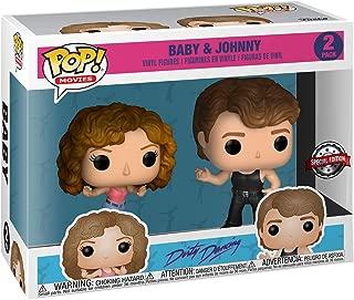 Funko - Figurine Dirty Dancing - 2-Pack Baby & Johnny Exclu Pop 10cm - 0889698368179