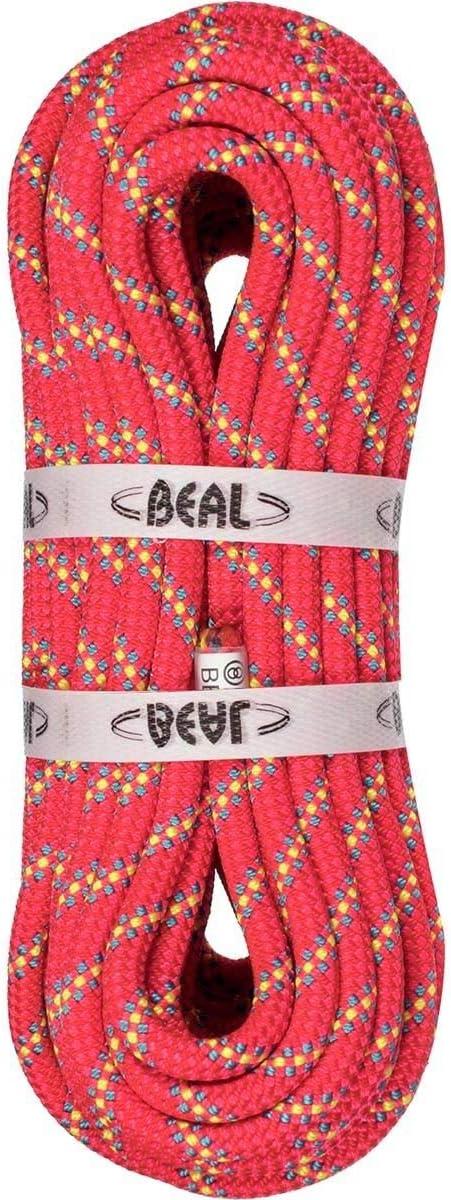 Beal Rando Glacier Golden Dry Climbing 20m Classic Rope Cheap bargain 8mm - Pink