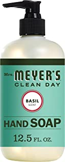 Mrs. Meyer's Clean Day Liquid Hand Soap, Basil, 12.5 OZ (Pack - 6)