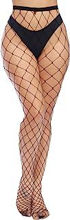 High Waist Tights Fishnet Stockings Thigh High Stockings...