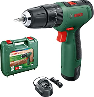 Bosch DIY tools 06039D3170 Bosch Cordless Hammer Drill EasyImpact 1200 (1x battery, 12 volt system, in carrying case)