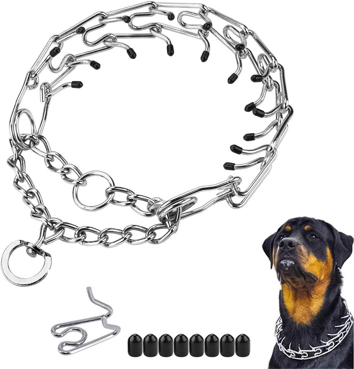 Prong Collar Direct stock discount Tulsa Mall for Dogs Dog Training Choke Adjustabl Pinch