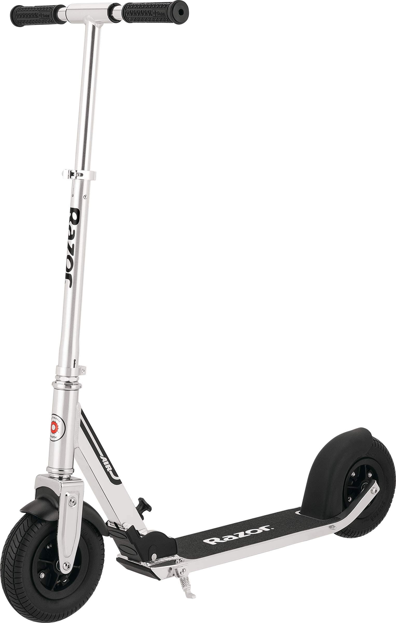 "Razor A5 Air Kick Scooter - 8"" Air-Filled Tires, Anti-Rattle System, Foldable, Adjustable Handlebars, Lightweight, for Riders Up to 220 lbs"