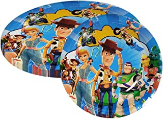 Party Supply Pack For Toy Story - Toy Story 7 inch Party Plate 30 pcs