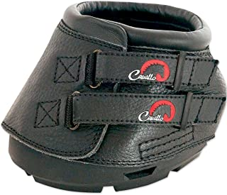 Cavallo Simple Hoof Boot for Horses, Black