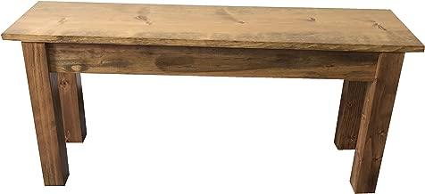 Ezekiel & Stearns Lancaster Farmhouse Bench (42
