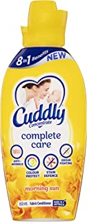 Cuddly Concentrate Fabric Softner Conditioner Complete Care Morning Sun Made in Australia 850mL