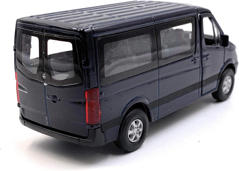 Onwomania Sprinter Mit Fenster Rot Modellauto Mit Wunschkennzeichen Auto Maßstab 1 34 Lizensiert Auto