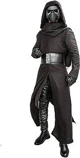 Mens Star Wars Kylo Ren Costume Robe Scarf Belt Under Tunic Gloves Outfit Halloween Cosplay
