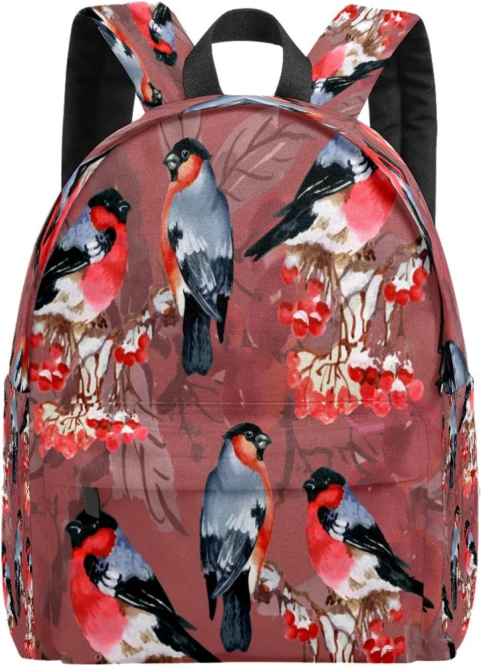 Seattle Mall free shipping School Bag Backpack College Lightweight Parrot Casual