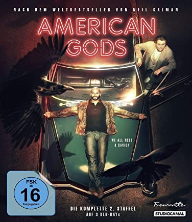 American Gods / Collector's Edition / 2. Staffel [Blu-ray]