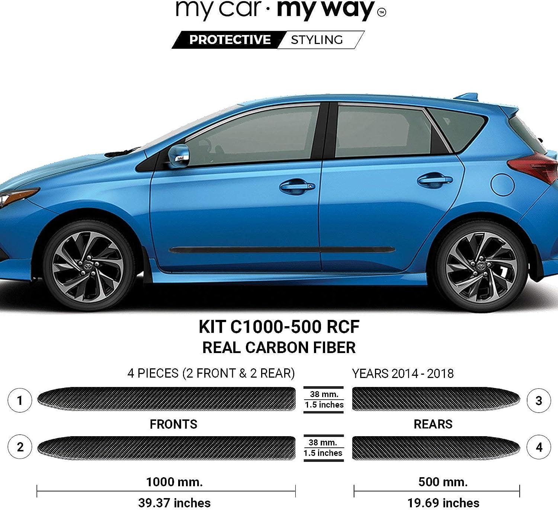 MY CAR WAY Fits Toyota Corolla Ranking TOP14 2014-2018 IM Fib sale Carbon Real