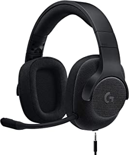 Logicool G ゲーミングヘッドセット G433BK ブラック Dolby 7.1ch ノイズキャンセリング マイク 付き PC PS4 Switch 3.5mm usb 軽量 G433 国内正規品 2年間メーカー保証