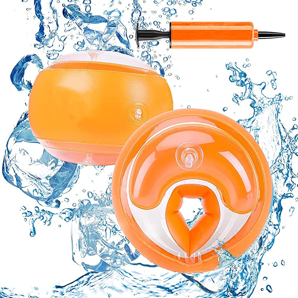 Hook Schwimmflügel für Kinder, Schwimmhilfe Kinder 1-4 Jahre, Swimsafe Anfänger Gerät Schwimmflügel Rund Schwimmreifen Armumfang 26-29cmSchwimmring für Jungen Mädchen Babys