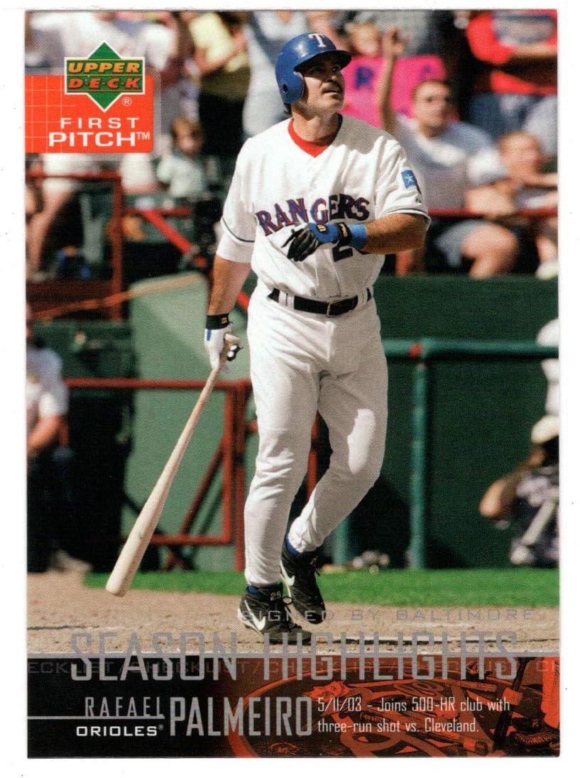 Rafael Directly managed store Palmeiro - At the price Season Highlights 20 Card Baseball Checklist