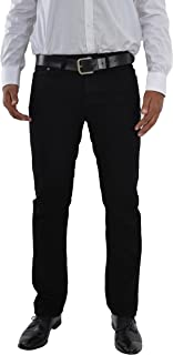F2 Men's Straight Leg Straight Cut Jeans Blue Petrol Jeans W30 to W42 Available