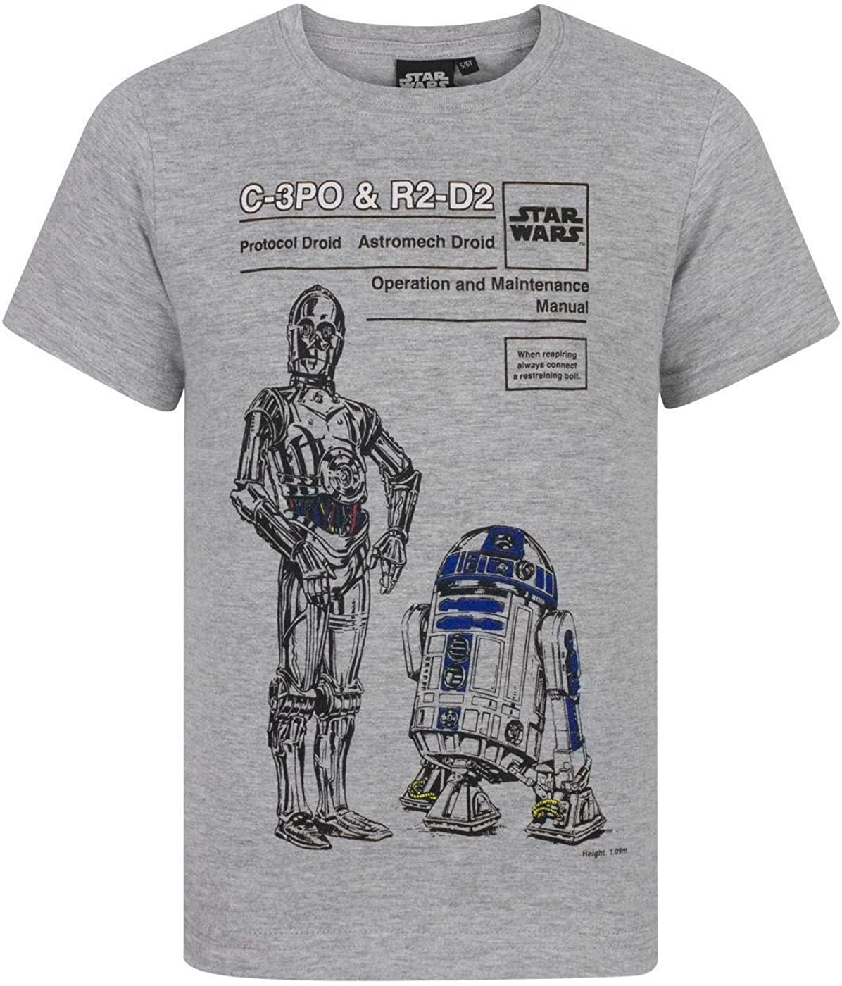 Branded goods Star Wars C-3PO Free Shipping New and Boy's R2D2 T-Shirt
