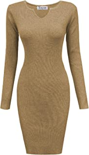 Best scoop back sweater dress Reviews