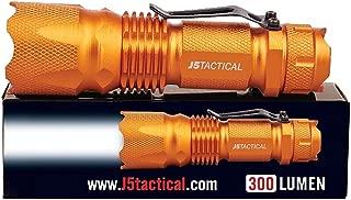 J5 Tactical V1-Pro Flashlight The Original 300 Lumen Ultra Bright, LED 3 Mode Flashlight,..