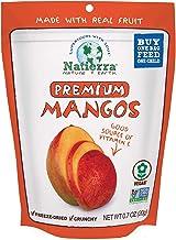 NATIERRA Premium Freeze-Dried Mangoes   Non-GMO & Vegan   0.7 Ounce (Pack of 8)