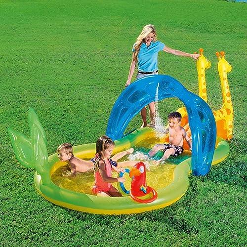 gran venta BABI Piscina Inflable Familiar Familiar Familiar del Centro de natación, 133 X 66  X 51 , Adecuada para Niños Mayores de 3 años  más vendido