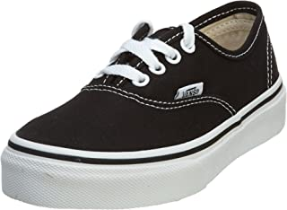 Kids Authentic Black/True White VN000WWX6BT Kids Size 2.5