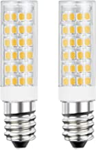 DiCUNO E14 LED Light Bulb 5W 50W Halogen Bulb Equivalent 220V Warm White 3000K 550 Lumen Non-dimmable Pack of 2