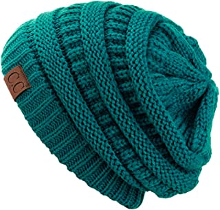 Best Trendy Warm Chunky Soft Stretch Cable Knit Beanie Skully Reviews