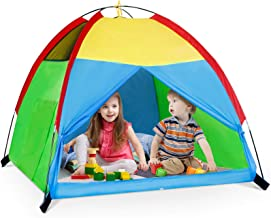 Kids Play Tent for Boys and Girls, Foldable Toddler Playhouse Toys for Baby Indoor/Outdoor Play Games, Imaginative Childre...