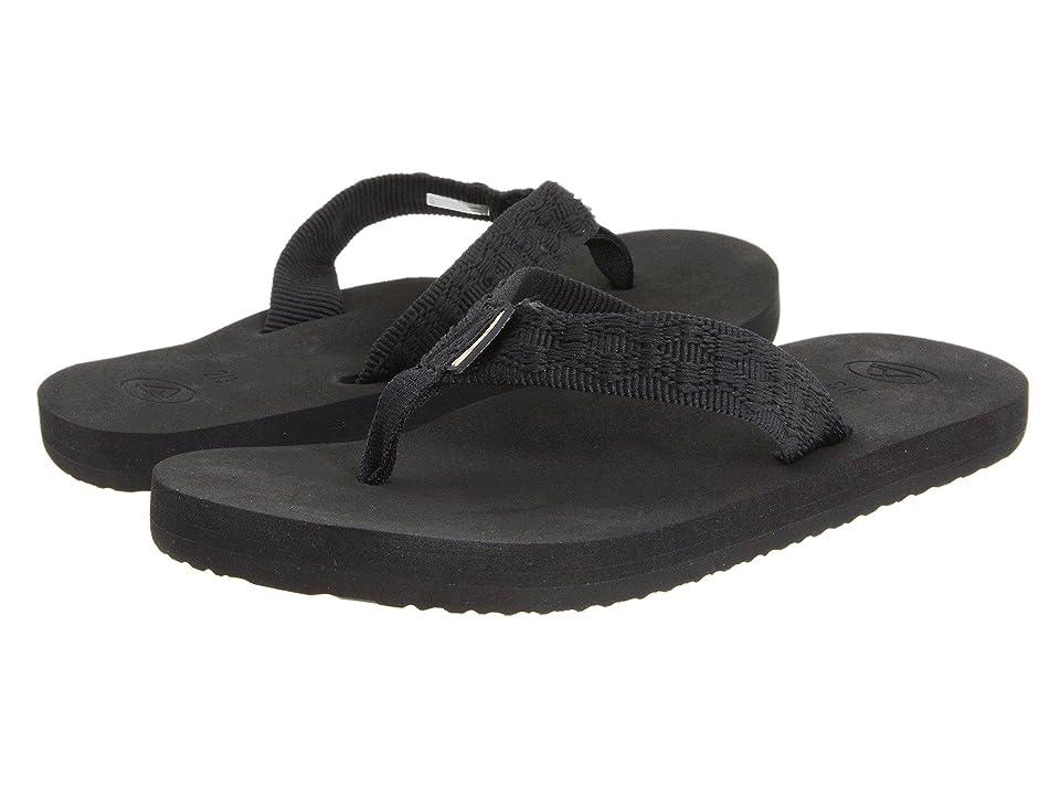 Reef Kids Grom Smoothy (Infant/Toddler/Little Kid/Big Kid) (Black) Boys Shoes