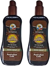 product image for Australian Gold Dark Tanning Accelerator Spray Gel with Bronzer (2 Pack)