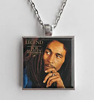 Album Cover Art Necklace Bob Marley Legend