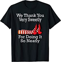 Wizard of Oz - We Thank You Very Sweetly T-Shirt