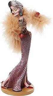 Enesco Disney Showcase Couture Force 101 Dálmatas Cruella de Vil Figurine, 20.46 cm, Multicolor