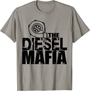 Diesel Truck, The Diesel Mafia Squad Gift T-Shirt